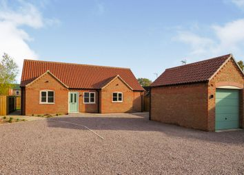 Thumbnail 3 bed detached bungalow for sale in Fishpond Lane, Holbeach, Spalding