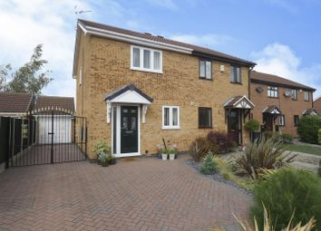 Thumbnail 2 bed semi-detached house for sale in Lichfield Close, Long Eaton, Nottingham