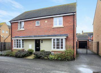 Thumbnail 4 bed detached house for sale in Edmund Drive, Hampton Vale, Peterborough
