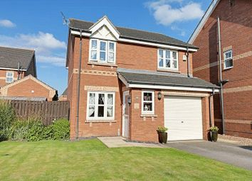 Thumbnail 3 bed detached house for sale in Willowmead Close, Scunthorpe