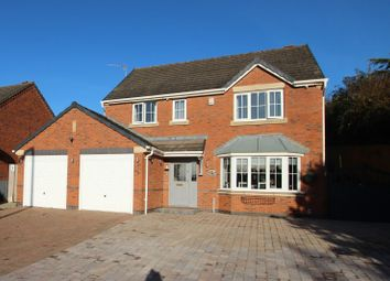 Thumbnail 4 bed detached house for sale in Clifton Way, Stapenhill, Burton-On-Trent