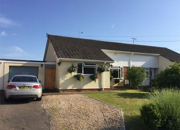 Thumbnail 3 bed semi-detached bungalow for sale in Moss Lane, Ruishton, Taunton