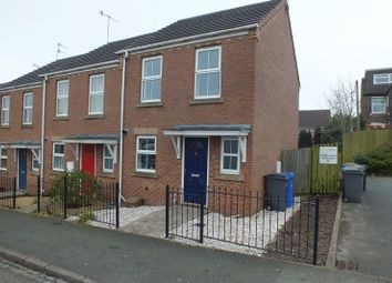 Thumbnail 2 bed mews house for sale in Furlong Road, Tunstall, Stoke-On-Trent