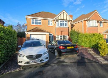 Thumbnail 4 bed detached house for sale in Bentley Green, Thornton-Cleveleys