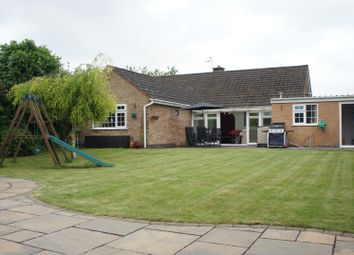 Thumbnail 4 bed detached bungalow for sale in Sileby Road, Barrow Upon Soar, Loughborough