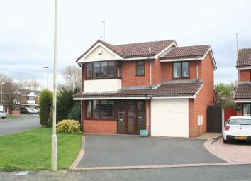 Thumbnail 4 bedroom detached house for sale in Stonefield Drive, Brierley Hill