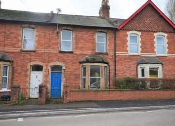 Thumbnail 3 bed terraced house for sale in Horsdon Terrace, Tiverton