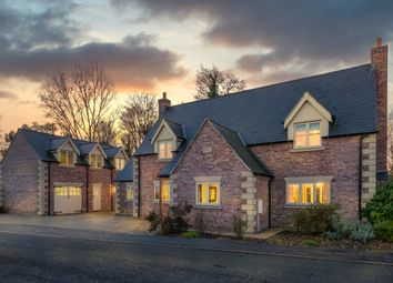 Thumbnail 4 bed detached house for sale in Church Lane, Moulton, Spalding
