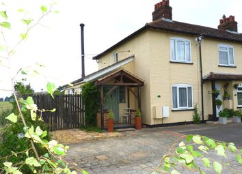 Thumbnail 2 bed end terrace house for sale in Field View Cottages, Blunham Road, Moggerhanger