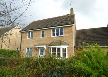 Thumbnail 4 bed detached house for sale in Standish Court, Peterborough, Cambridgeshire