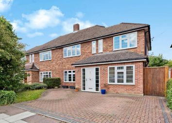 Thumbnail 3 bed semi-detached house for sale in Sterry Drive, Thames Ditton