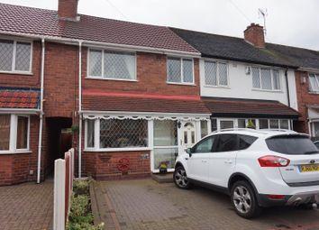 Thumbnail 3 bed terraced house for sale in Brackenfield Road, Great Barr, Birmingham
