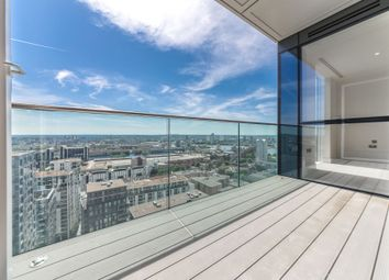 Thumbnail 1 bed flat to rent in Maine Tower, Harbour Central, 9 Harbour Way, London
