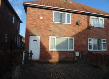 Thumbnail 2 bed semi-detached house to rent in Toft Crescent, Murton, Seaham