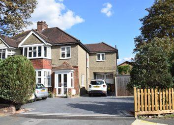 Chestnut Avenue, Ewell, Epsom KT19. 4 bed semi-detached house
