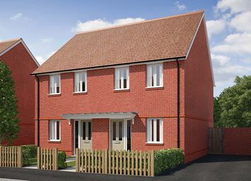 """Thumbnail 2 bed terraced house for sale in """"The Bowes"""" at Saunders Way, Basingstoke"""