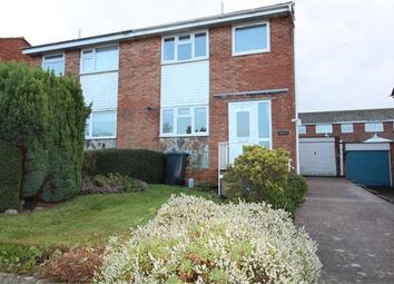 Thumbnail 3 bed semi-detached house to rent in Maple Drive, Exmouth, Devon.