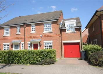 Thumbnail 3 bed semi-detached house to rent in Braeburn Way, Kings Hill, West Malling