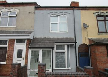 Thumbnail 2 bed terraced house for sale in Edith Road, Smethwick