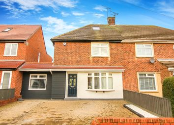 Thumbnail 2 bed semi-detached house for sale in Monkhouse Avenue, North Shields