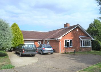 Thumbnail 3 bed detached bungalow for sale in Julian Road, North Wootton, King's Lynn