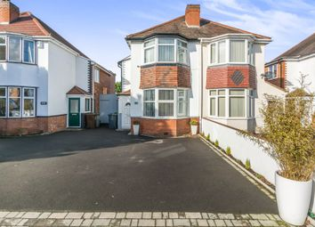 Thumbnail 4 bed semi-detached house for sale in Marshall Lake Road, Shirley, Solihull