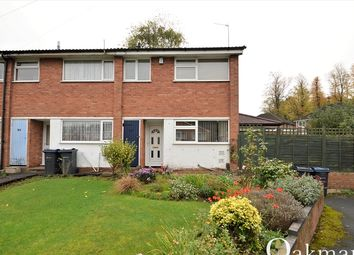 Thumbnail 3 bedroom end terrace house for sale in Wellman Croft, Birmingham, West Midlands.