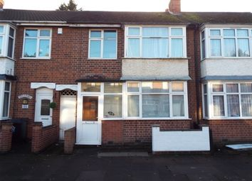 Thumbnail 3 bed terraced house to rent in Prestwold Road, Leicester
