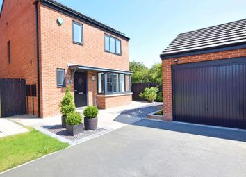 Thumbnail 4 bed detached house for sale in The Meadows, Wallsend