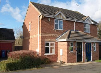Thumbnail 2 bed semi-detached house for sale in Moncreiff Drive, Stretton, Burton-On-Trent, Staffordshire