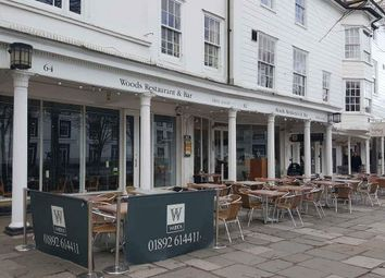Thumbnail Restaurant/cafe to let in The Rear, Pantiles, Tunbridge Wells