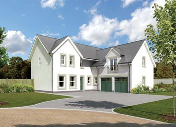 "Thumbnail 5 bedroom detached house for sale in ""Cramond"" at Crathes, Banchory"