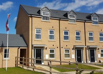 Thumbnail 3 bed end terrace house for sale in Oak Road, Market Weighton