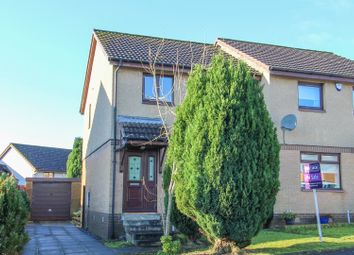 Thumbnail 3 bed semi-detached house for sale in Medrox Gardens, Cumbernauld