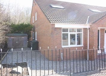 Thumbnail 1 bed bungalow to rent in Ordley Close, Newcastle Upon Tyne
