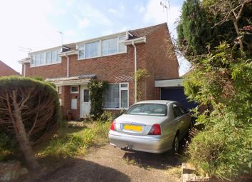 Thumbnail 3 bed semi-detached house for sale in Hooker Close, Budleigh Salterton, Devon