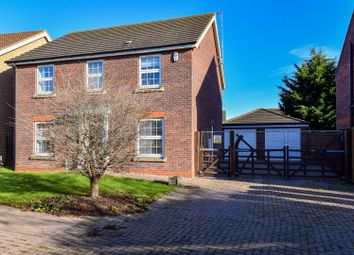 Thumbnail 4 bedroom detached house for sale in Sir Isaac Newton Drive, Wyberton, Boston
