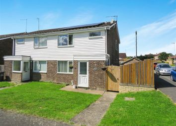 Thumbnail 3 bed semi-detached house for sale in Ermine Way, Sawtry, Huntingdon