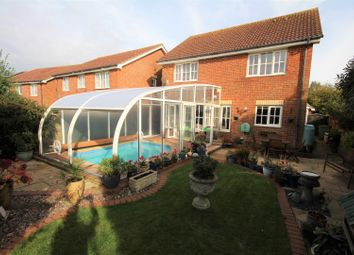 Thumbnail 4 bed detached house for sale in Heron Forstal Avenue, Folkestone