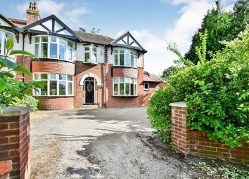 Thumbnail 4 bedroom semi-detached house for sale in Knutsford Road, Wilmslow