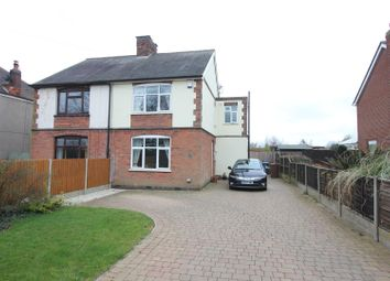 Thumbnail 3 bedroom semi-detached house for sale in The Common, Barwell, Leicester