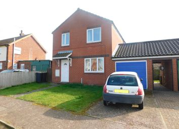 Thumbnail 3 bed detached house for sale in Woodward Avenue, Bacton