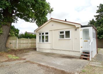 Thumbnail 2 bed mobile/park home for sale in Millbank Court, Station Road, Thirsk