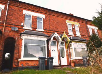 Thumbnail 1 bed terraced house to rent in Kingsbury Road, Erdington, Birmingham
