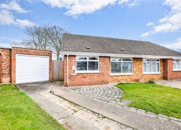 Thumbnail 2 bed semi-detached bungalow for sale in Fairview Gardens, Sturry, Canterbury, Kent