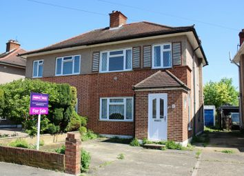 Thumbnail 3 bed semi-detached bungalow for sale in Goshawk Gardens, Hayes