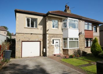Thumbnail 5 bed semi-detached house for sale in Leafield Drive, Bradford