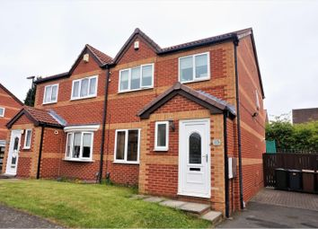 Thumbnail 3 bed semi-detached house for sale in Dovecrest Court, Wallsend