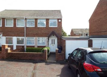 Thumbnail 3 bed semi-detached house for sale in Antrim Close, Newcastle Upon Tyne, Tyne And Wear