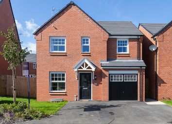 Thumbnail 4 bed detached house to rent in Rozman Park, Leigh, Greater Manchester.